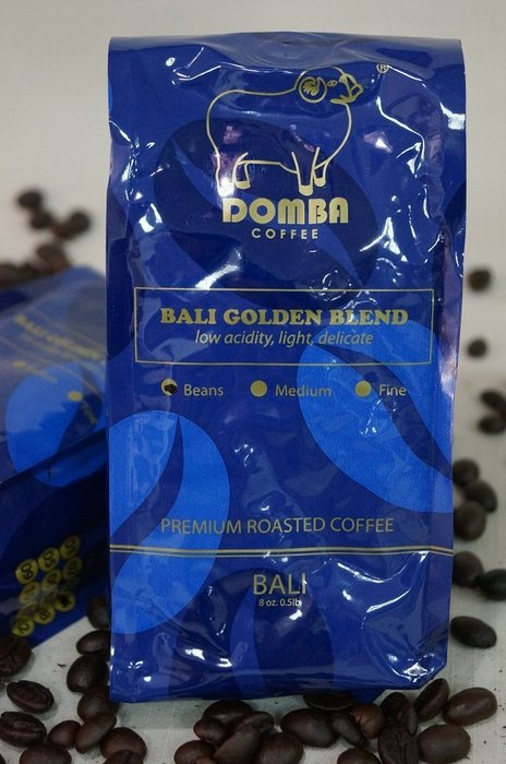 《2017/5/1起調價》COFFEE DOMBA 峇里島小綿羊黃金咖啡 (母豆磨粉篇)