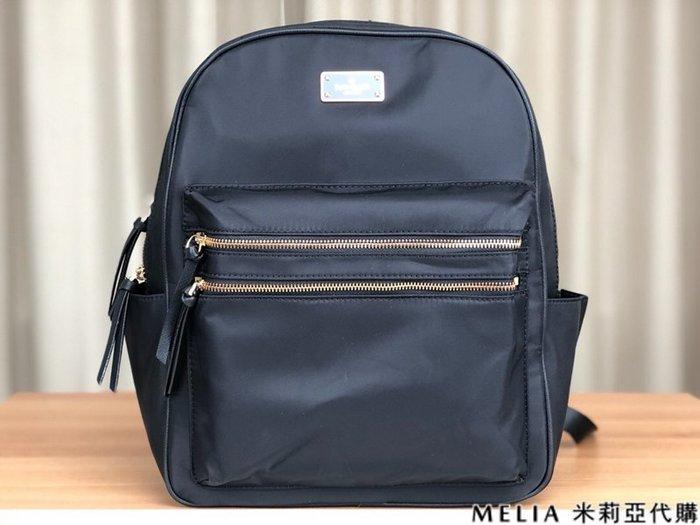 Melia 米莉亞代購 美國代買 KATE SPADE 凱特包 8月新品 雙肩包 後背包 防潑水尼龍 大款 黑色