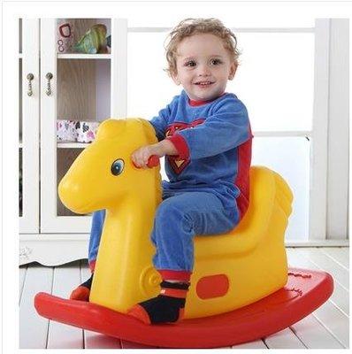 木馬兒童搖馬寶寶玩具搖搖馬嬰兒塑料嬰幼音樂多功能大號搖搖車