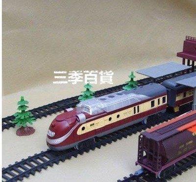 三季送禮首選!電動火車模型 蒸汽頭軌道火車玩具 電動軌道仿真火車 古典款 兒童生日禮物❖638
