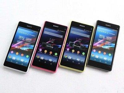 免運 送行動電源+鋼化膜+保護套 Sony Xperia Z1 Compact 4G LTE D5503 2070萬