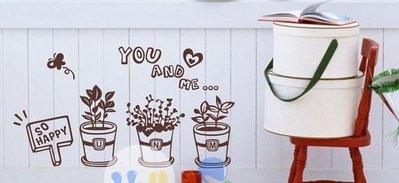小妮子的家@you and me花園壁貼/牆貼/玻璃貼/磁磚貼/汽車貼/家具貼