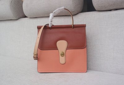【Woodbury Outlet Coach 旗艦館】COACH 79206 Willis手提斜背包美國代購100%正品