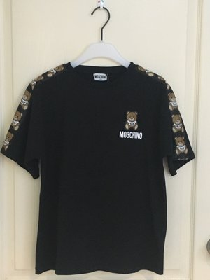 秒殺斷貨款  Moschino  Teddy  branded T-shirt 12A 現貨一件