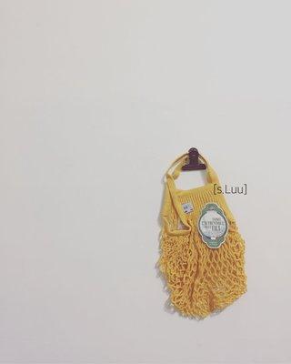 「s.Luu」現貨:New arrival 法國品牌Filt漁網袋鵝黃S號 法國製造,日本愛用