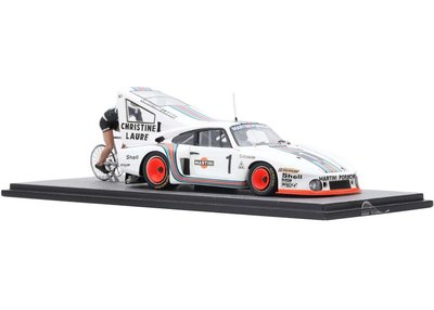 "OI-134 Spark- Porsche 935 #1 ""Porsche Martini Racing"" Bicycle Speed Record"