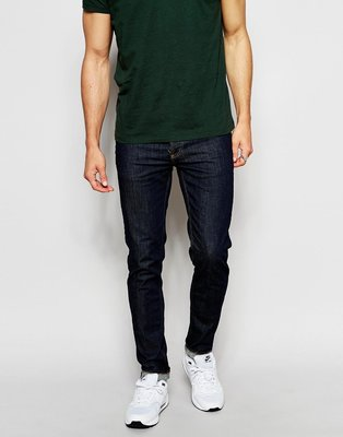 == Dickies 小舖 == 出清特價  Dickies XD712 深藍 窄版 皮標牛仔褲  彈性布料 新北市