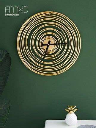 北歐掛鐘客廳家用時尚鐘錶現代藝術大廳靜音時鐘個性創意臥室掛錶