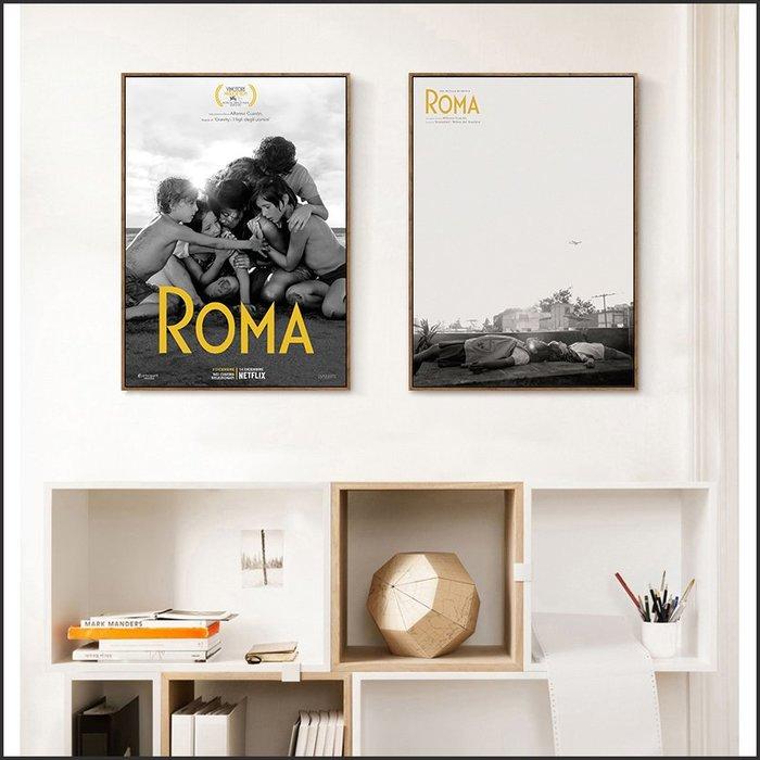 日本製畫布 電影海報 羅馬 Roma 掛畫 嵌框畫 @Movie PoP 賣場多款海報~