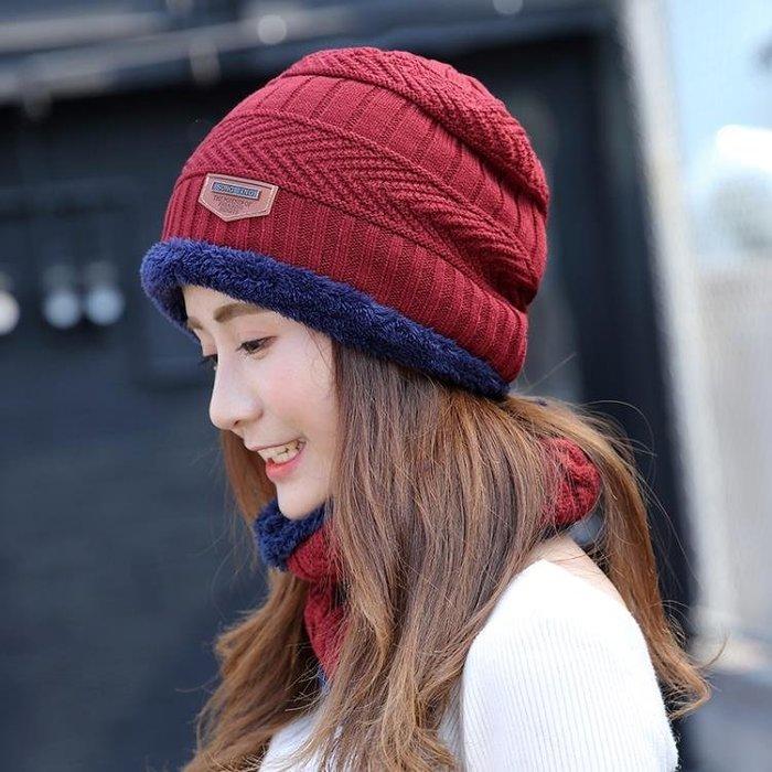 帽子帽子女冬天潮韓國秋冬季帽子女士百搭毛線帽加絨針織帽韓版護耳帽