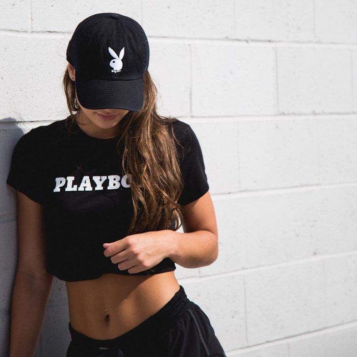 南◇2019 7月 47 Brand x Playboy MVP 聯名 黑色 白色 兔子 老帽 情色 運動帽 帽子 男女