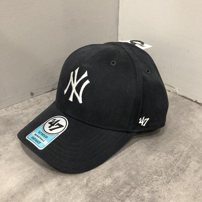 【現貨出清不退換】YANKEES 洋基帽-小童款深藍色 保證正品 歡迎來店參觀選購