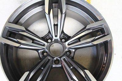 ~三重長鑫車業~BMW M6式樣 黑底/深灰底車刀面 5孔 120 前後配 18吋鋁圈 E87 F30 F20 F22