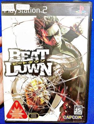 幸運小兔 PS2遊戲 PS2 喋血黑街 Beat Down PlayStation2 日版遊戲 E3