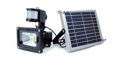 ☆太陽能 LED 感應投射燈☆ 戶外型 太陽能 LED 10W 感應投射燈 探照燈 廣告照明燈 戶外路燈.照明燈-C款