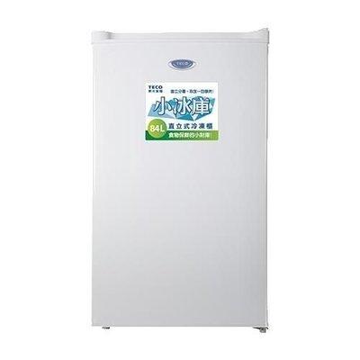TECO 東元 84公升 單門 直立式 冷凍櫃 ( RL84SW ) $6600