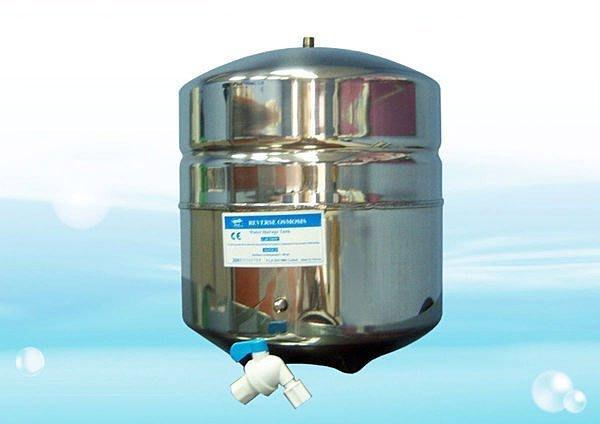 【水易購淨水網-苗栗店】RO機用 3.2G不鏽鋼儲水壓力桶