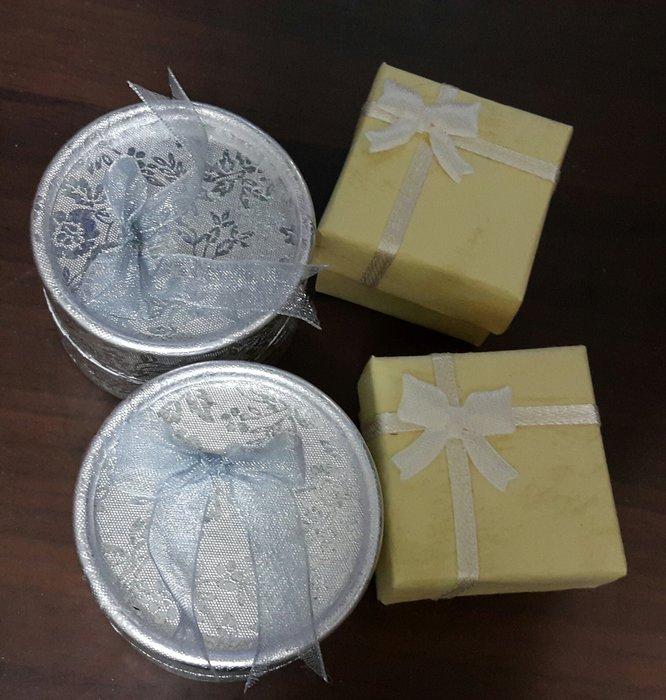 耳環戒指包裝首飾盒 送禮盒