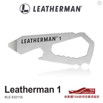 【angel 精品館 】LEATHERMAN #1 小型多功能工具 832116
