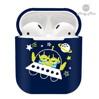 正版授權 Disney 迪士尼 AirPods / AirPods2 硬式保護套 - 三眼怪