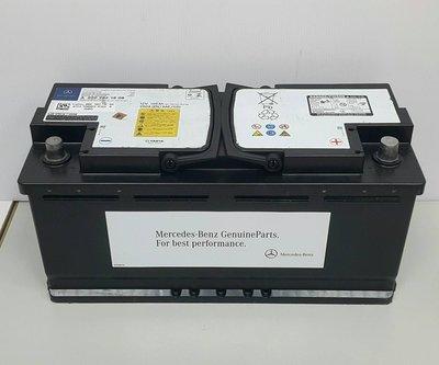 賓士原廠電瓶 W222 C217 蓄電池 (105A 950A AGM) 0009821808 26