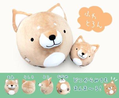 柴犬fuwafuwa抱枕 (M尺寸)~圓滾滾的柴犬陪你渡過無聊時刻