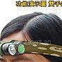 【亞昕光電】登山 爬山 朔溪 攀岩 手電筒專用頭帶 可裝18650手電筒 L型 XM-L2 T6 U2可用