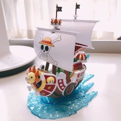 【😊Smile】 海賊王 / 魯夫  海賊王船 千里陽光號  拼裝   模型   Q2