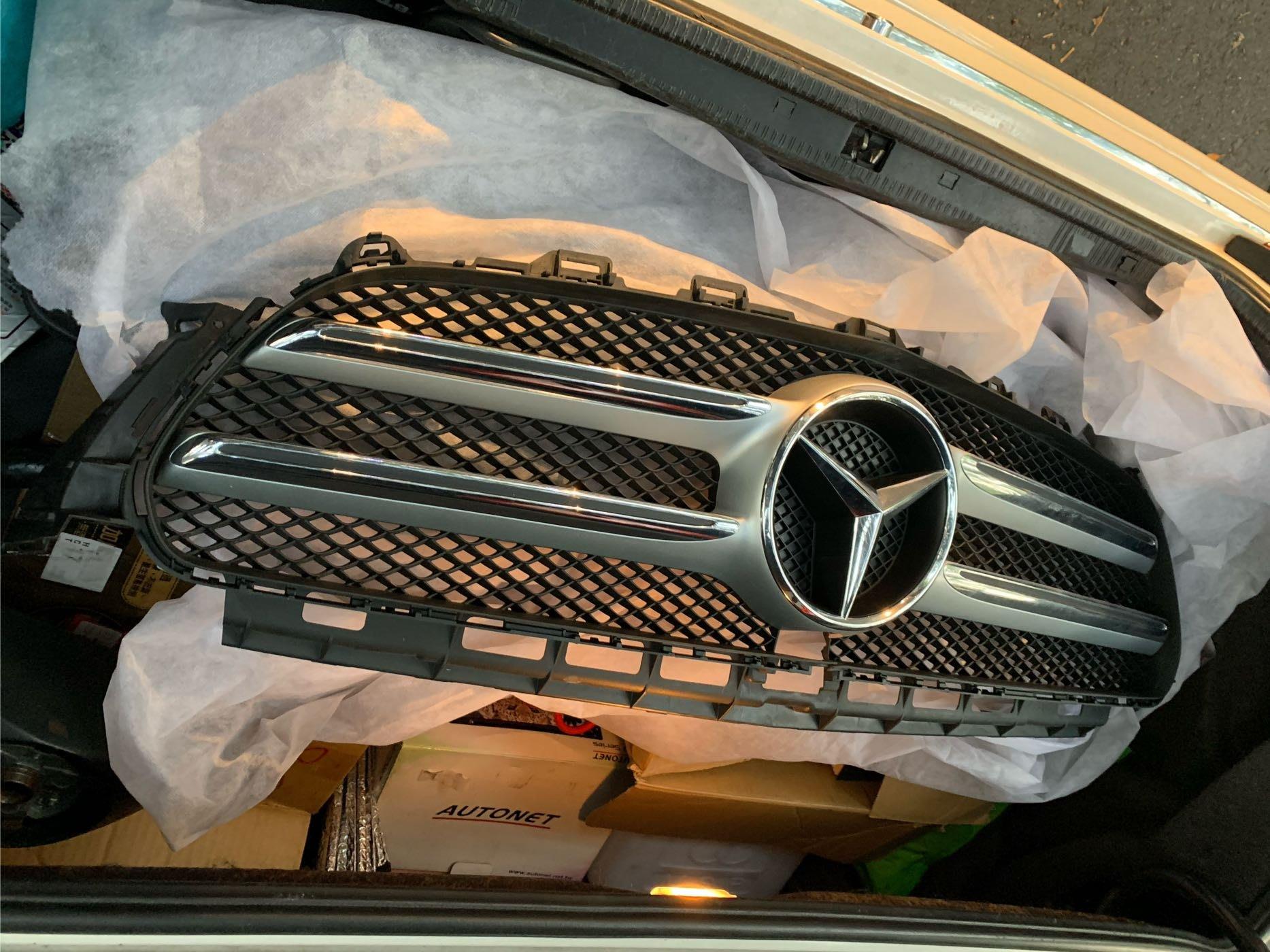 W213 Benz e250水箱護罩(含mark)