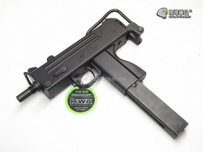 【翔準軍品AOG】《KSC》MLL 第二代手槍 衝鋒槍 (黑)瓦斯槍 手槍 生存遊戲 D-07-3