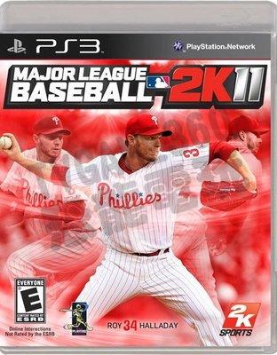 【二手遊戲】PS3 職棒大聯盟2K11 MAJOR LEAGUE BASEBALL 2011 英文版【台中恐龍電玩】