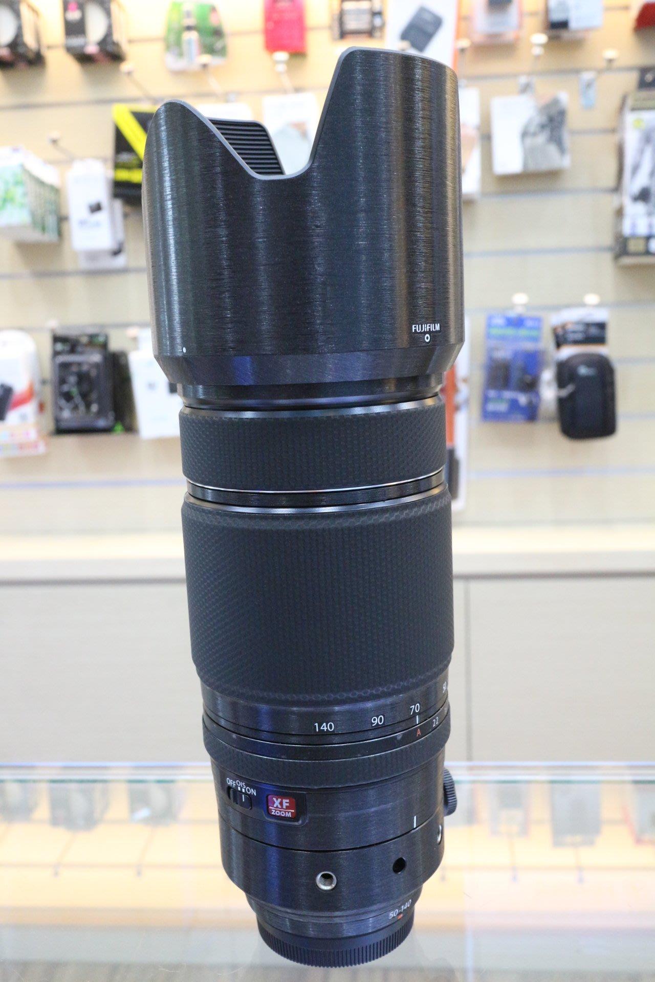 【日產旗艦】LIFE+GUARD FUJI XF 50-140mm 鏡頭包膜 鏡頭貼膜 鏡頭保護貼 另有 16-55mm