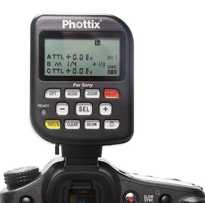 呈現攝影-Phottix Odin TTL for Sony Tx(單發射器) 無線閃燈觸發器2.4G TTL