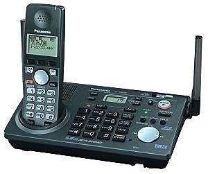 國際牌 Panasonic KX-TG6700 雙外線1子機 雙撥號盤 無線電話, 原價6000, 9成新