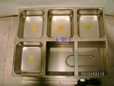 溫控深厚方六格菜桶~餐架~自助餐~小菜~電力~插電~1500W~~220V