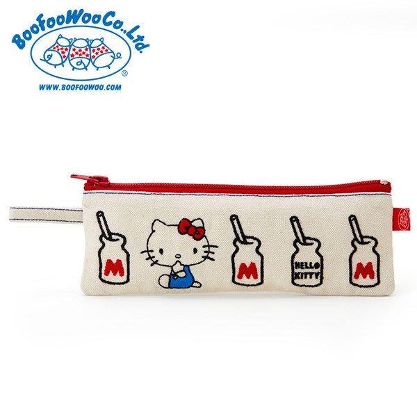 現品 日本三麗鷗 HELLO KITTY 筆袋  收納袋 化妝袋