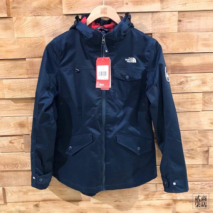 (D.S) THE NORTH FACE Jacket 女款 深藍色 夾克 外套 防潑水 機能 NF0A3L7BH2G