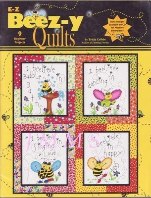 【傑美屋-縫紉之家Ⅱ館】美國拼布書籍~BEEZ-Y QUILTS