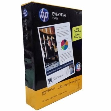 HP 影印紙 A4 80P 80磅 專業 不卡紙 電腦紙 列印紙 超白 進口紙 500張/包 厚 不卡紙