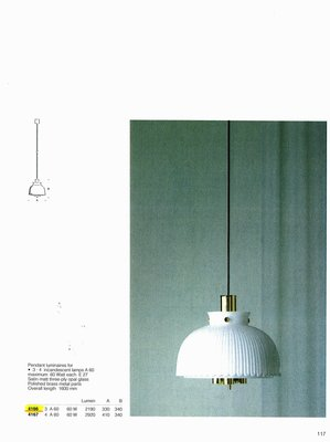 德國名牌 LIMBURG PENDANT LUMINAIRE MODEL NO. 4166