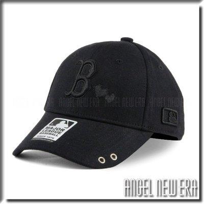 【ANGEL NEW ERA 】 MLB Old Fashioned Cap  紅襪 B 黑 老帽   愛心  人字布