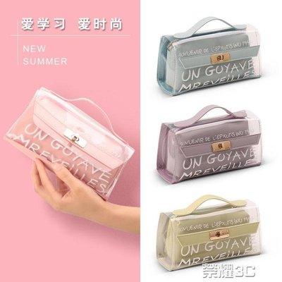 筆袋 筆袋高中小學生用文具袋 韓國簡約...