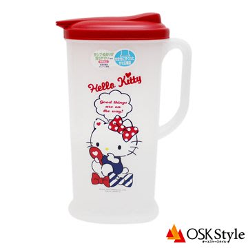 日本製 Hello Kitty 冷水壺 2L