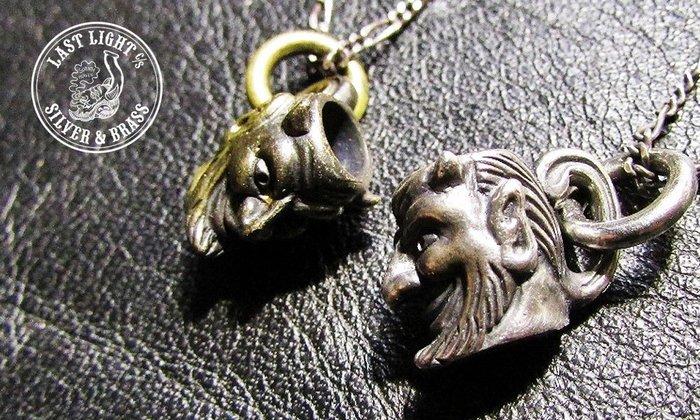 GOODFORIT / 日本Last Light Devil's Breakfast Necklace惡魔咖啡杯/黃銅