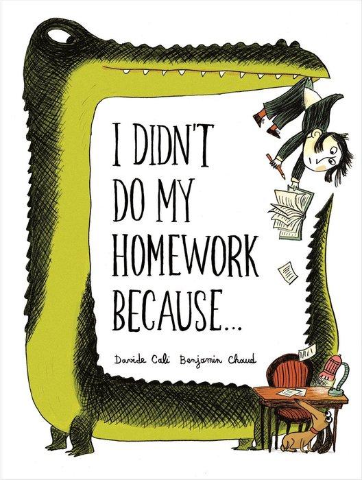 *小貝比的家*I DIDN'T DO MY HOMEWORK BECAUSE/精裝/7-12歲/李貞慧-PART2.