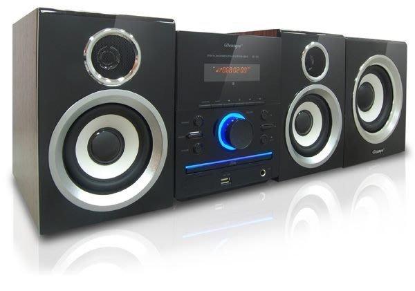 Dennys DivX/USB/DVD重低音2.1音響(MD-380SW)