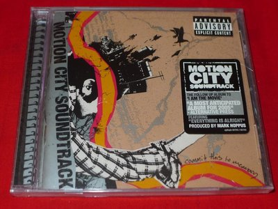 Motion City Soundtrack ?– Commit This To 全新未拆 CD