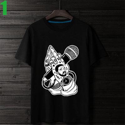 HIP HOP【嘻哈 饒舌】短袖嘻哈饒舌(HIP-HOP RAP)T恤(共6種顏色可供選購) 購買多件多優惠!【賣場一】