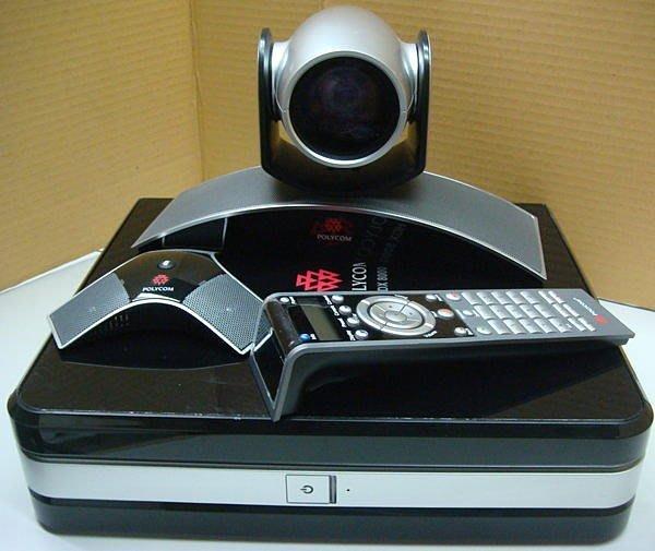 POLYCOM HDX7000 MCU多點HD視訊會議系統~~台中面交可~~ TANDBERG SONY PCS
