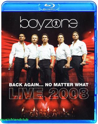 高清藍光碟 Boyzone Back Again No Matter What Live (藍光BD50)